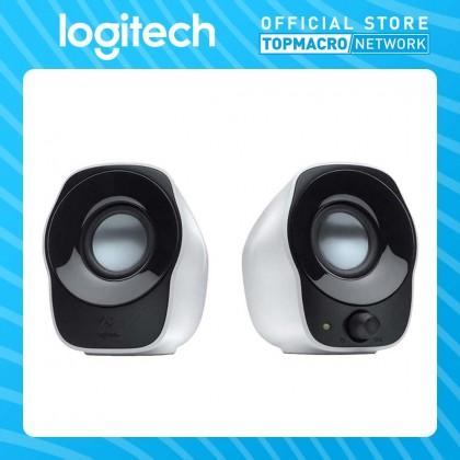 LOGITECH Z120 STEREO SPEAKERS-BLACK&WHITE COLOR